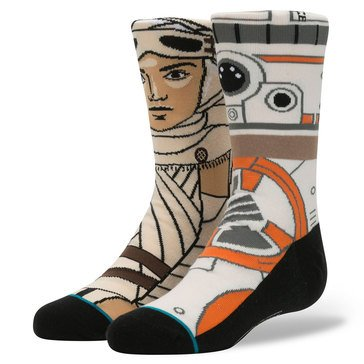 Stance Little Boys' Star Wars The Resistance Socks, Size 2.5-5