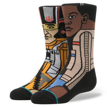 Stance Little Boys' Star Wars Resistance Socks, Size 2.5-5