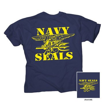 NavalTees  Men's Seal Team Tee