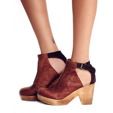 Free People Amber Orchard Women's Clog Chocolate