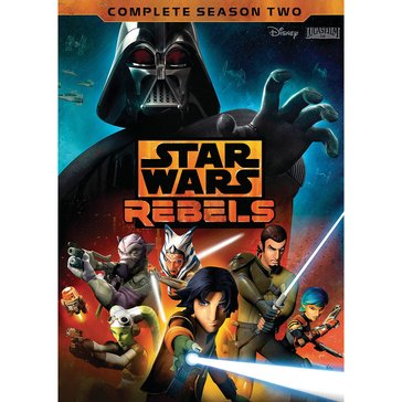 Star Wars: Rebels Second Season DVD