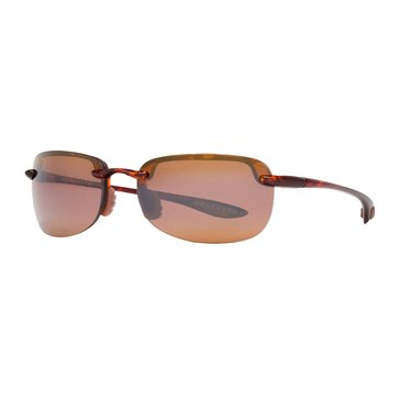 Maui Jim Women's Sandy Beach Polarized Sunglasses H408-10, Tortoise/ Bronze 56mm