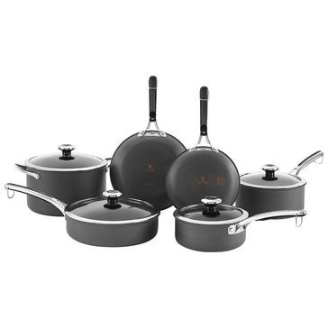 Revere Clean Pan Non-Stick Hard Anodized 10-Piece Cookware Set