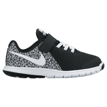 Nike Flex Experience 5 Print Boys' Running Shoe Black/ White