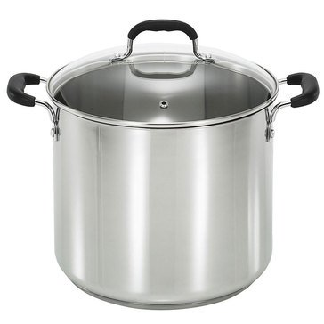 T-fal 12-Quart Stainless Steel Stock Pot
