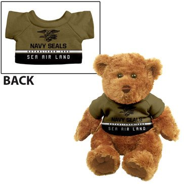 Navy Seal Team Trad Bear, Gold/Black