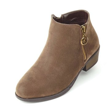 Pierre Dumas Kids Zury 1 Girls' Casual Bootie Brown