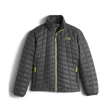 The North Face Big Boys' Thermoball Full Zip Jacket, Graphite Grey