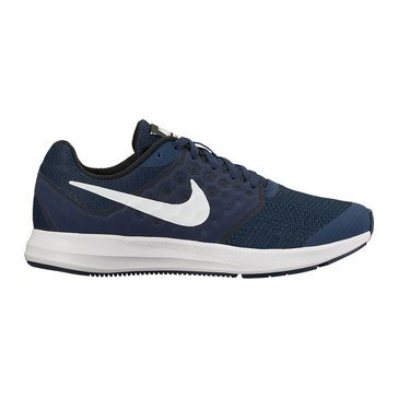 Nike Downshifter 7 Boys' Running Shoe Midnight Navy/ White