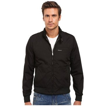 Members Only Men's Iconic Racer Jacket Black