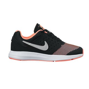 Nike Downshifter 7 Girls' Running Shoe Black/ Lava Glow