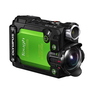 Olympus Stylus Tough TG-Tracker Action Camera - Green (V104180EU000)