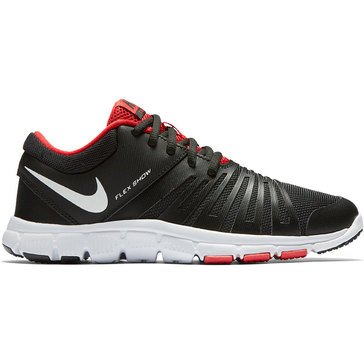 Nike Flex Show TR 5 Boys' Training Shoe Black/ White/ University Red