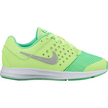 Nike Downshifter 7 Girls' Running Shoe Ghost Green/ Metallic Silver