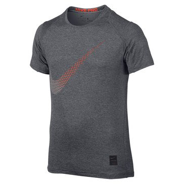 Nike Big Boys' Pro Cool Fitted Swoosh Top