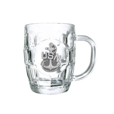 USN Chief Dimpled Mug