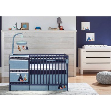 Just Born Adventure 3-Piece Crib Bedding Set