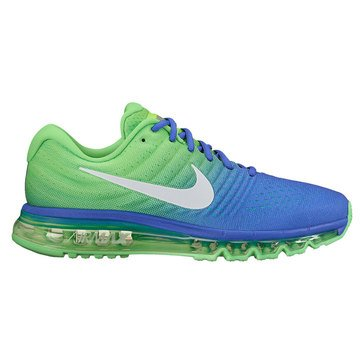 Nike Air Max 2017 Men's Running Shoe Paramount Blue/ White/ Electro Green
