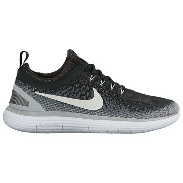 Nike Free RN Distance 2 Men's Running Shoe Black/ White/ Cool Grey/ Dark Grey
