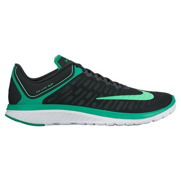 Nike FS Lite Run 4 Men's Running Shoe Black/ Electro Green/ Stadium Green/ White