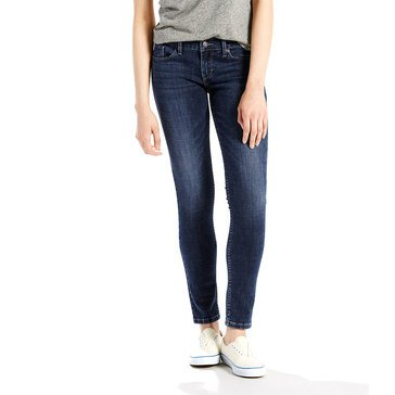 Levi Women's 524 Skinny Jeans Sharp Shock