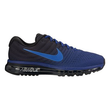 Nike Air Max 2017 Men's Running Shoe Deep Royal Blue/ Hyper Cobalt/ Black