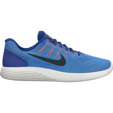 Nike Lunar Glide 8 Men's Running Shoe Medium Blue/ Black/ Deep Royal Blue