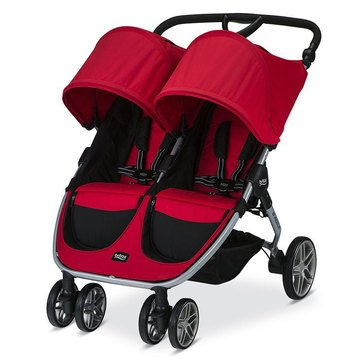 Britax B-Agile 2016 Double Stroller, Red