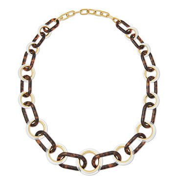 Michael Kors Gold Tone Beaded Slider Bracelet