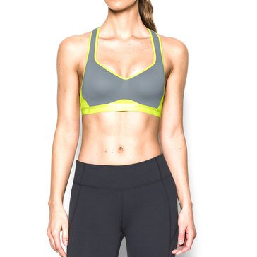 Under Armour High Support Sports Bra Grey