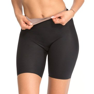 Spanx Mid-Thigh Short Very Black/ Mineral Taupe