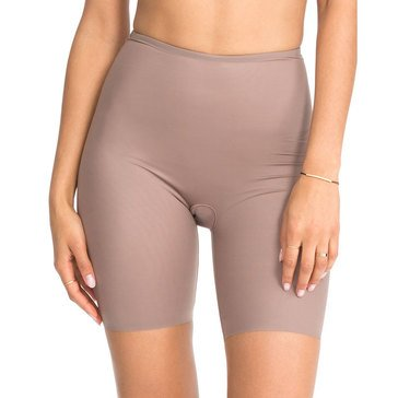 Spanx Mid-Thigh Short Mineral Taupe/ Soft Nude