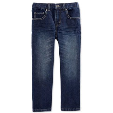 Epic Threads Little Boys' Straight Denim, Dark Blue