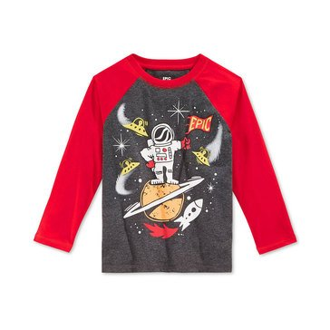 Epic Threads Little Boys' Long Sleeve Epic Space Tee