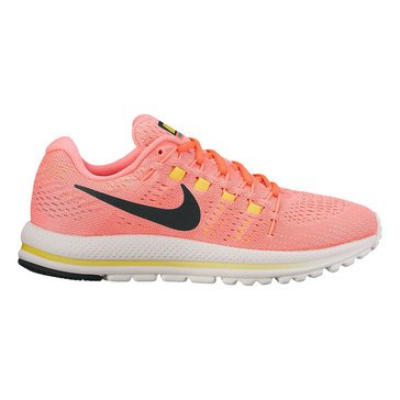 Nike Air Zoom Vomero 12 Women's Running Shoe Hot Punch/ Black/ Lava Glow/ Electrolime