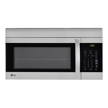 LG 1.7-Cu.Ft. Over-The-Range Microwave Oven, Stainless Steel (LMV1762ST)