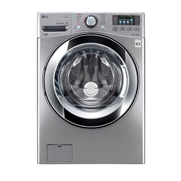 LG 4.5-Cu.Ft. Front Load Washer, Graphite Steel (WM3670HVA)