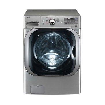LG 5.2-Cu.Ft. Front Load Washer with Steam Technology, Graphite Steel (WM8100HVA)