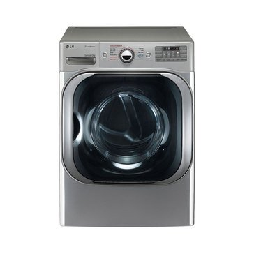 LG 9.0-Cu.Ft. Electric Dryer with TrueSteam, Graphite Steel (DLEX8100V)