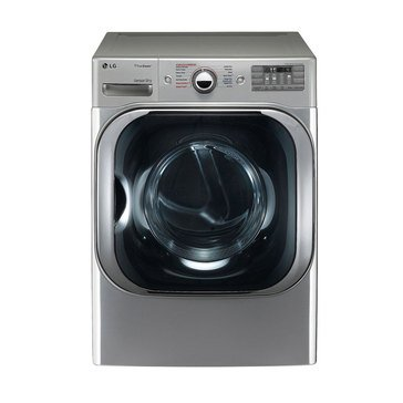 LG 9.0-Cu.Ft. Gas Dryer with TrueSteam, Graphite Steel (DLG8101V)