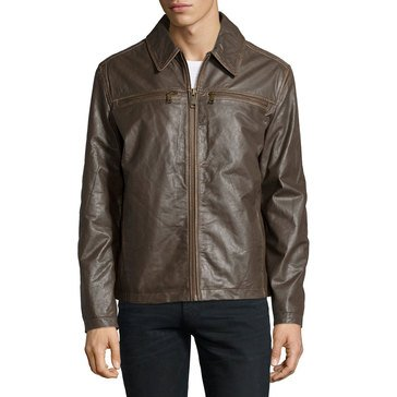 Marc New York Romney Leather Jacket Dwood