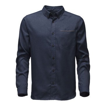 The North Face Men's M's Long Sleeve Thermo Core Twill Shirt