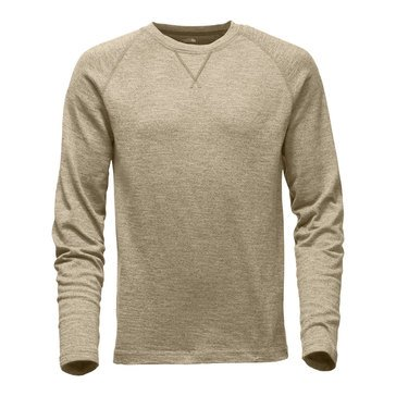 The North Face Men's Long Sleeve Copperwood Brown Crew