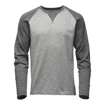The North Face Men's Long Sleeve Copperwood Grey Crew