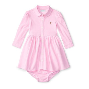 Ralph Lauren Baby Girls' Oxford Shirt Dress