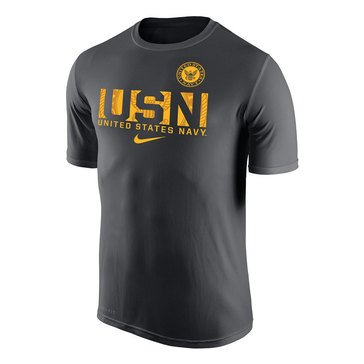 Nike  Men's  USN With Navy Seal Dri-Fit Legend Short Sleeve Tee