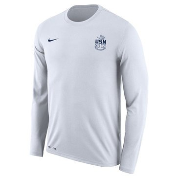 Nike  Men's  With Navy Seal Dri-Fit Long Sleeve Tee