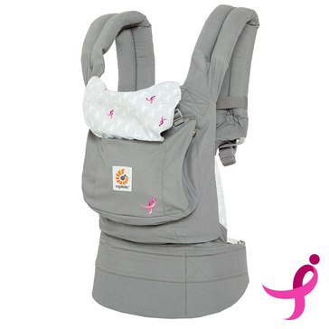 Ergobaby Original 3-Position Baby Carrier, Susan G. Komen Ribbons