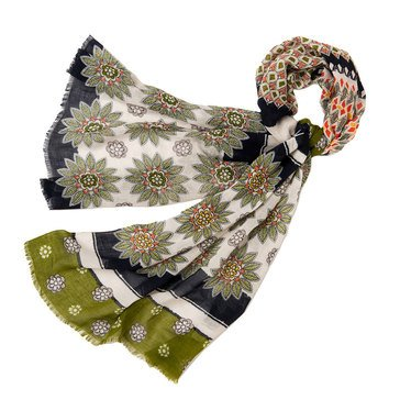 Spartina 449 Retreat Floral Scarf