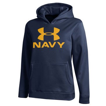 Under Armour Boys' USN Performance Hoodie